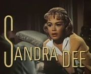 Portrait of Sandra Dee (click to view image source)