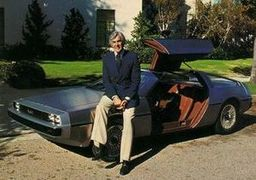 Portrait of John Z. DeLorean  (click to view image source)