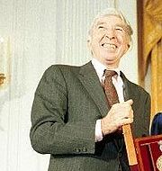 Portrait of John Updike (click to view image source)