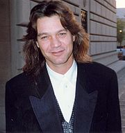 Portrait of Eddie Van Halen (click to view image source)