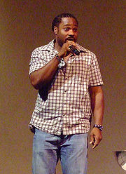 Portrait of Malcolm-Jamal Warner (click to view image source)
