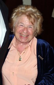 Portrait of Ruth Westheimer (click to view image source)