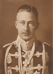 Portrait of Prince of Germany Wilhelm  (click to view image source)