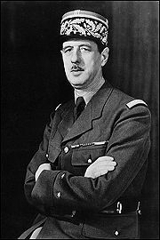 Portrait of Charles de Gaulle (click to view image source)