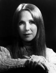 Portrait of Julie Harris (click to view image source)