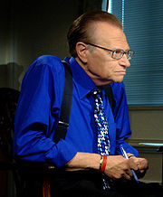 Portrait of Larry King (click to view image source)