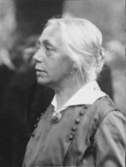 Portrait of Kathe Kollwitz  (click to view image source)