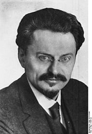 Portrait of Leon Trotsky (click to view image source)