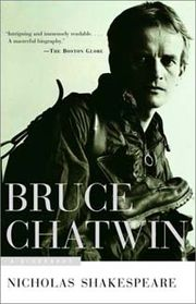 Portrait of Bruce Chatwin  (click to view image source)
