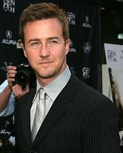 Portrait of Edward Norton  (click to view image source)