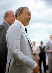 Portrait of King of Morocco Hassan II (click to view image source)