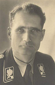 Portrait of Rudolf Hess  (click to view image source)