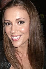 Portrait of Alyssa Milano (click to view image source)