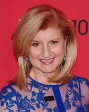 Portrait of Arianna Huffington (click to view image source)
