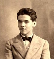 Portrait of Federico Garcia Lorca (click to view image source)