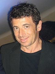 Portrait of Patrick Bruel (click to view image source)