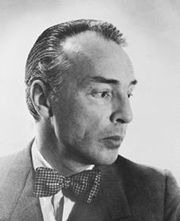 Portrait of George Balanchine (click to view image source)