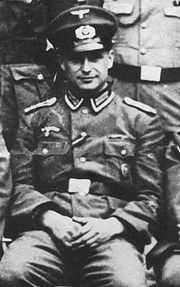 Portrait of Klaus Barbie (click to view image source)