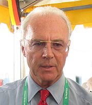 Portrait of Franz Beckenbauer (click to view image source)