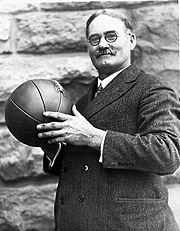 Portrait of James Naismith (click to view image source)