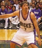 Portrait of Toni Kukoc (click to view image source)