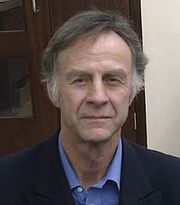 Portrait of Ranulph Fiennes (click to view image source)