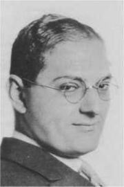 Portrait of Ira Gershwin (click to view image source)