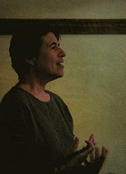 Portrait of Natalie Goldberg (click to view image source)