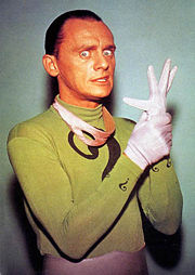 Portrait of Frank Gorshin (click to view image source)