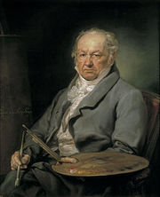 Portrait of Francisco de Goya (click to view image source)