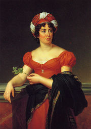 Portrait of Madame de Staël (click to view image source)