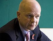 Portrait of William Hague (click to view image source)
