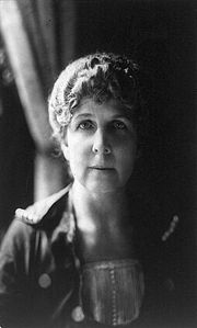 Portrait of Florence Harding (click to view image source)