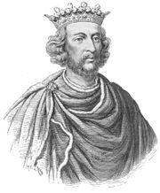 Portrait of King of England Henry III (click to view image source)