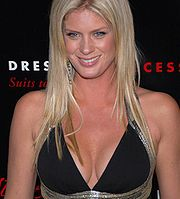 Portrait of Rachel Hunter (click to view image source)