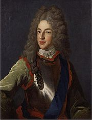 Portrait of Prince of England James (click to view image source)