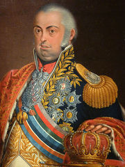Portrait of King of Portugal João VI (click to view image source)