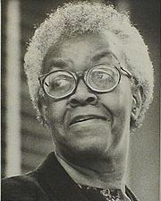 Portrait of Gwendolyn Brooks (click to view image source)