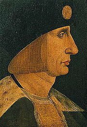Portrait of King of France Louis XII (click to view image source)