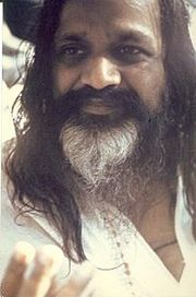 Portrait of Maharishi Mahesh Yogi (click to view image source)