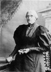 Portrait of Susan B. Anthony (click to view image source)