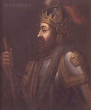 Portrait of King of Portugal Afonso V (click to view image source)