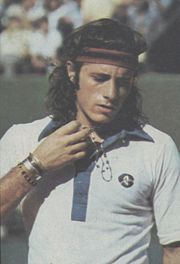 Portrait of Guillermo Vilas (click to view image source)