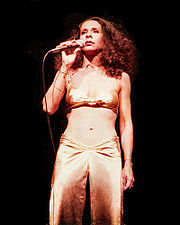 Portrait of Gal Costa (click to view image source)
