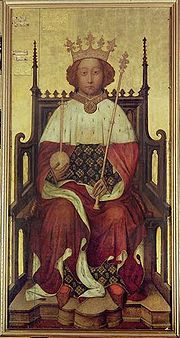 Portrait of King of England Richard II (click to view image source)