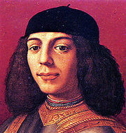 Portrait of Piero di Lorenzo de Medici (click to view image source)