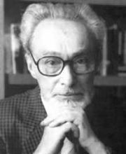 Portrait of Primo Levi (click to view image source)