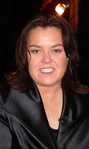 Portrait of Rosie O'Donnell (click to view image source)