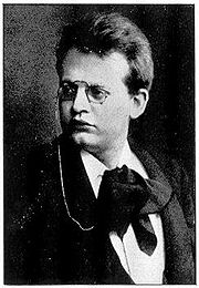 Portrait of Max Reger  (click to view image source)