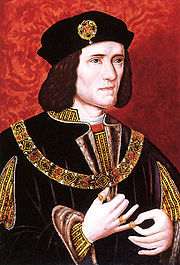 Portrait of King of England Richard III (click to view image source)
